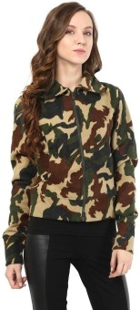 The Vanca Full Sleeve Printed Women's Jacket