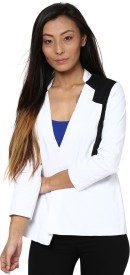 Liebemode 3/4 Sleeve Solid Women's Quilted Jacket