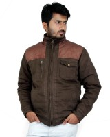 Truccer Basiscs Full Sleeve Solid Men's Slim Fit Cotton Winter Jacket