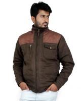 Truccer Basiscs Full Sleeve Solid Men's Slim Fit Cotton Winter Jacket