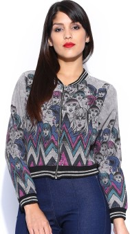 Noble Faith Full Sleeve Printed Women's Quilted Jacket - JCKE93RKFZJYDN92