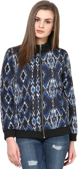 Sportelle USA India Full Sleeve Printed Women's Quilted Jacket