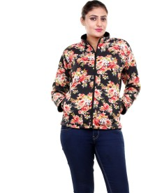 Clotone Full Sleeve Solid Girl's, Women's Jacket