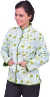 ChhipaPrints Full Sleeve Printed Reversible Women's Quilted Reversible Jacket - JCKEFNPGB4GJCGZY