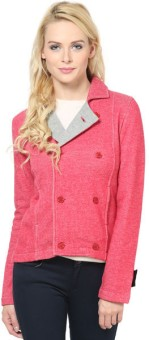 The Vanca Full Sleeve Solid Women Jacket
