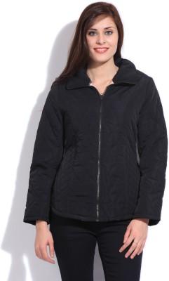 Duke Duke Full Sleeve Solid Women's Jacket (Black)