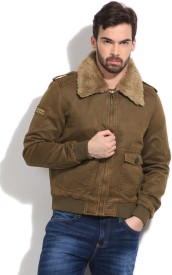 Being Human Clothing Full Sleeve Solid Men's Jacket