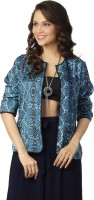 Love From India Full Sleeve Printed Reversible Women's Reversible Jacket