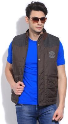 Pepe Pepe Sleeveless Solid Men's Jacket (Multicolor)
