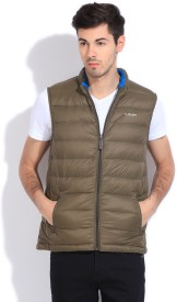 U.S.Polo.Assn Sleeveless Solid Men's Jacket