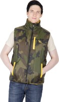 Dazzgear Sleeveless Solid Reversible Men's Quilted Reversible Jacket - JCKEY9PNNQBSSTQS