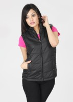 Pepe Sleeveless Solid Women's Quilted Jacket