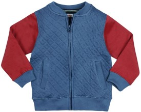 Oye Full Sleeve Solid Boy's Jacket
