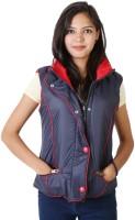Asst Sleeveless Solid Reversible Women's Reversible Jacket