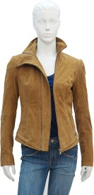 Justanned Full Sleeve Solid Women's Jacket