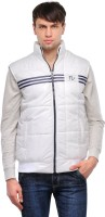 TSX Sleeveless Solid, Striped Men's Quilted Jacket - JCKE292USYTFHHQR