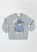 Fox Full Sleeve Printed Boy's Jacket