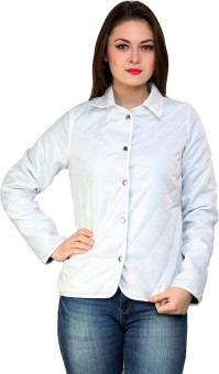 @499 Winter Full Sleeve Solid Women's Quilted Jacket - JCKE3HBQRV5PDVGZ