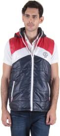 Sports 52 Wear Sleeveless Striped Men's Jacket