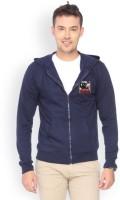Campus Sutra Full Sleeve Solid Men's Fleece Jacket - JCKDZVDWGJB2F9RF