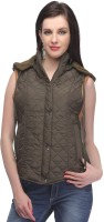 Madame Sleeveless Solid Women's Jacket