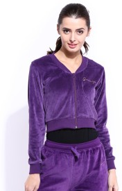 DressBerry Full Sleeve Solid Women's Quilted Jacket