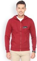 Campus Sutra Full Sleeve Solid Men's Fleece Jacket - JCKDZVDXX9GRRWUR