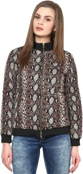 Sportelle USA India Full Sleeve Printed Women's Quilted Jacket - JCKE4BHHRNVAVZBX