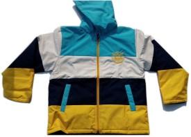Peridot Club Full Sleeve Solid Boy's Jacket