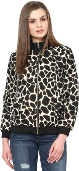 Sportelle USA India Full Sleeve Printed Women's Quilted Jacket - JCKE4BHHZHKAMZRJ