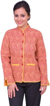 ChhipaPrints Full Sleeve Printed Women's Quilted Reversible Jacket