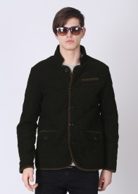 U.S. Polo Assn. Full Sleeve Striped Men's Quilted Jacket