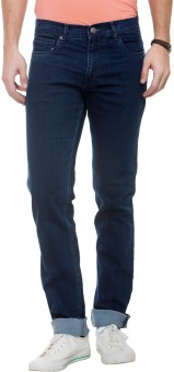 Live In Regular Fit & Slim Fit Fit Men's Dark Blue Jeans
