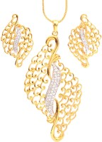 Vendee Fashion Antique Alloy Jewel Set Gold, Silver