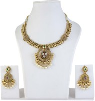 Muchmore Classic Designer Bollywood Design Alloy Jewel Set Multicolor