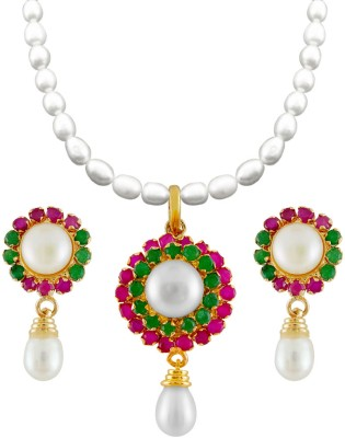 Jpearls Mother of Pearl Jewel Set