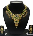 Zaveri Pearls Grand Gold Finish Alloy Jewel Set - Multicolor