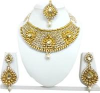 Chetan Arts Jewellery Alloy Jewel Set Gold