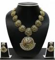 Zaveri Pearls Antique Goldtone Alloy Jewel Set - JWSDWQ3SGYESVH7P