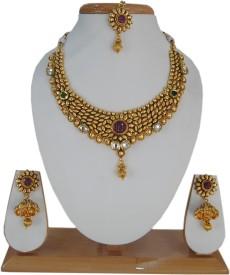 Saheli Art Jewellery Copper Jewel Set