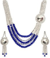 Avani Industries Elegant Jewellery With Combo Of Alloy Jewel Set Silver