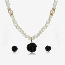 Nisa Pearls & Jewellery Shell Jewel Set