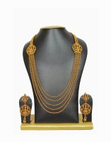MoKanc Out-of-the-ordinary Brass Jewel Set Gold