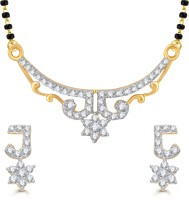 Vighnaharta Traditional Trendy Alloy Jewel Set Gold