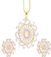 Vendee Fashion Antique Delicate Alloy Jewel Set Gold, Silver