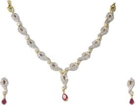 DG Jewels Brass Jewel Set