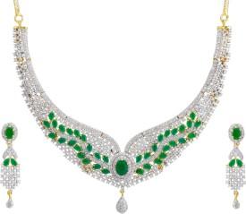 Prisha Alloy Jewel Set