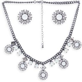 Rubans Metal Jewel Set