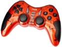 Havit G89W Wireless Gamepad Controller Compatible With PC,PS2,PS3  Joystick (Red, For PS2, PS3, PC)