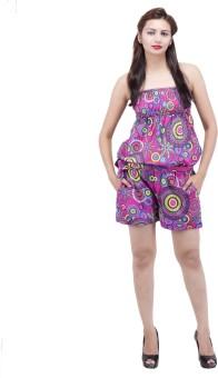 Jaipur Kala Kendra Floral Print Women's Jumpsuit - JUME6NV3VZZFVZ6W
